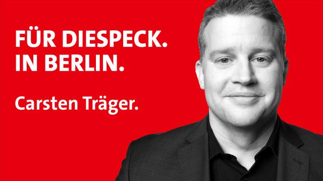 Kampagnenmotiv Carsten Träger